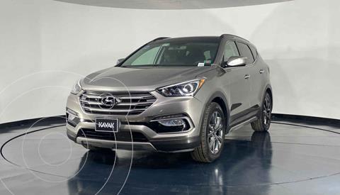 Hyundai Santa Fe Sport 2.0L Turbo usado (2017) color Cafe precio $402,999