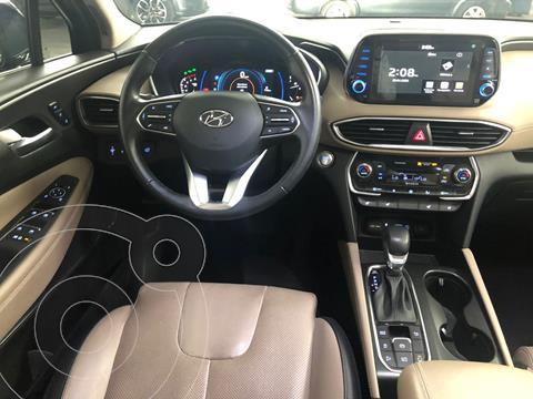 Hyundai Santa Fe Limited Tech usado (2019) color Azul Acero precio $549,000