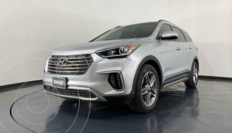 Hyundai Santa Fe V6 Limited Tech usado (2019) color Gris precio $574,999