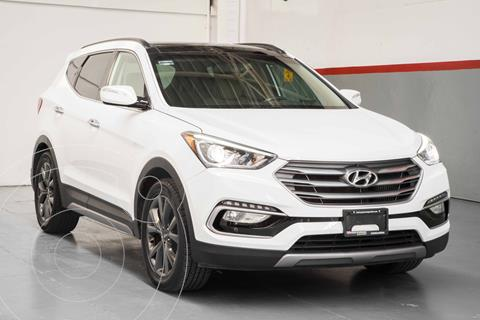Hyundai Santa Fe Sport 2.0L usado (2018) color Blanco precio $409,900