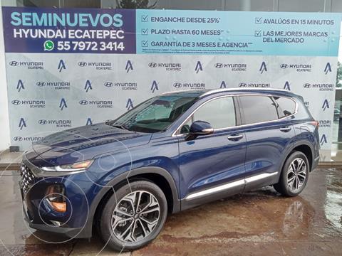Hyundai Santa Fe Limited Tech usado (2020) color Azul precio $553,000