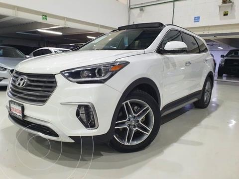 Hyundai Santa Fe V6 Limited Tech usado (2018) color Blanco precio $439,100