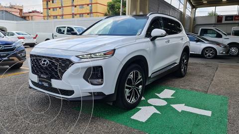 Hyundai Santa Fe Limited Tech usado (2019) color Blanco precio $535,000