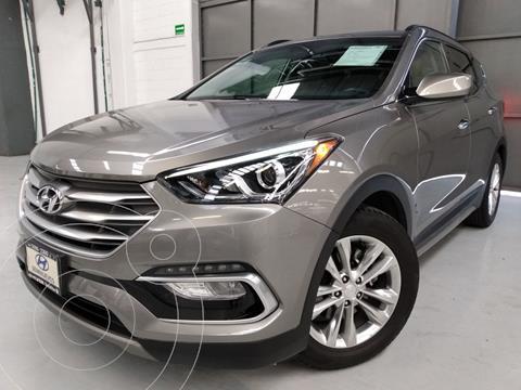 Hyundai Santa Fe 2.0L Turbo usado (2018) color Beige precio $366,000