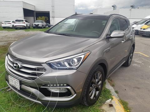 Hyundai Santa Fe Sport 2.0L Turbo usado (2018) color Bronce precio $410,000