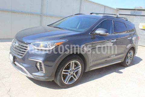 Hyundai Santa Fe V6 Limited Tech usado (2018) color Gris precio $449,000