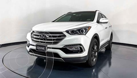 Hyundai Santa Fe Sport 2.0L Turbo usado (2017) color Blanco precio $362,999