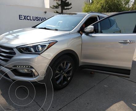 Hyundai Santa Fe Sport 2.0L Turbo usado (2018) color Plata precio $379,000