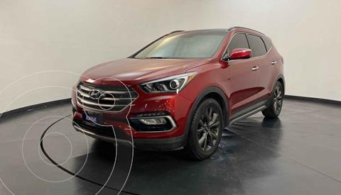 Hyundai Santa Fe Sport 2.0L Turbo usado (2017) color Rojo precio $354,999