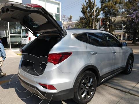 Hyundai Santa Fe Sport 2.0L Turbo usado (2018) color Gris precio $379,000
