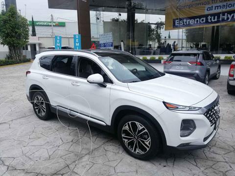 Hyundai Santa Fe V6 Limited Tech usado (2020) color Blanco precio $599,000