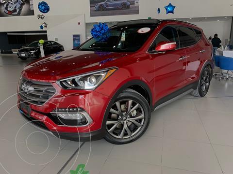 Hyundai Santa Fe Sport 2.0L usado (2017) color Rojo precio $388,000