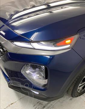 Hyundai Santa Fe Limited Tech usado (2019) color Azul precio $549,900