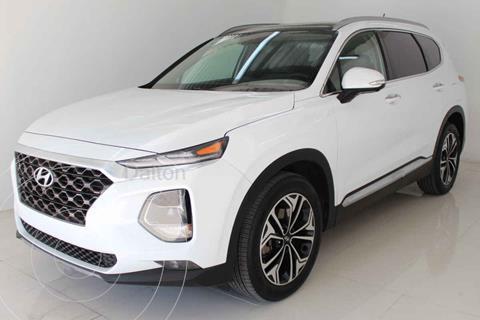 Hyundai Santa Fe V6 Limited Tech usado (2020) color Blanco precio $629,000