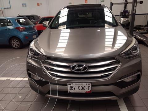 Hyundai Santa Fe Sport 2.0L usado (2017) color Gris precio $375,000