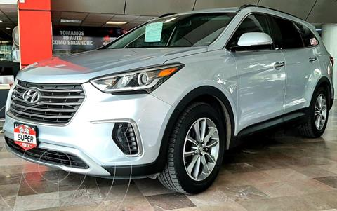 Hyundai Santa Fe GLS Premium usado (2018) color Plata Dorado precio $439,000