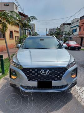 Hyundai Santa Fe 2.4L GLS 4x2 Sport Aut usado (2019) color Plata precio $31,500