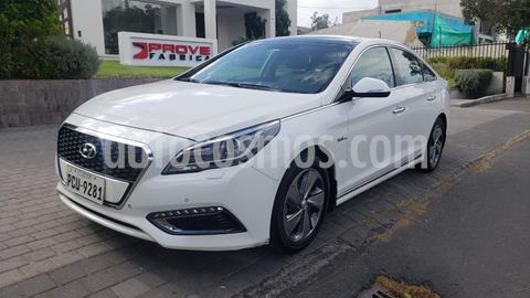 Hyundai Sonata Hibrido 2.0L GL  usado (2017) color Blanco precio u$s22.900
