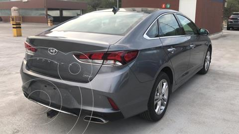 Hyundai Sonata Limited NAVI usado (2018) color Gris precio $339,900