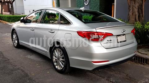 Hyundai Sonata GLS usado (2015) color Plata precio $200,000