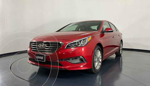 Hyundai Sonata Premium usado (2017) color Rojo precio $252,999
