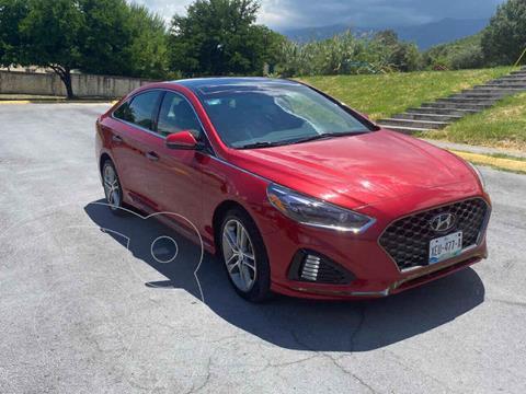 Hyundai Sonata Sport 2.0T usado (2018) color Rojo precio $319,000
