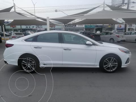 Hyundai Sonata Sport 2.0T usado (2018) color Blanco precio $330,000