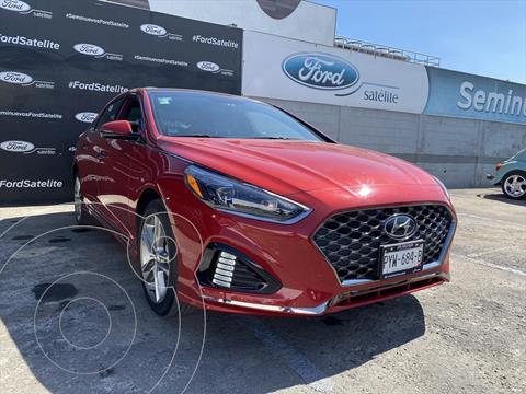 Hyundai Sonata SPORT 2.0 T usado (2018) color Rojo precio $340,000