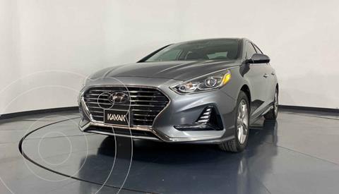 Hyundai Sonata Limited NAVI usado (2018) color Gris precio $309,999