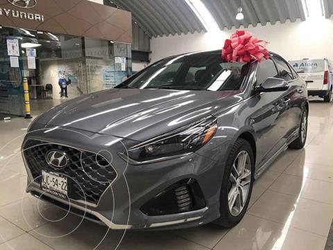 Hyundai Sonata Sport 2.0T usado (2018) color Gris precio $315,000