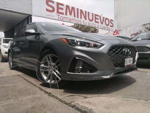 Hyundai Sonata Sport 2.0T usado (2018) color Gris precio $369,800