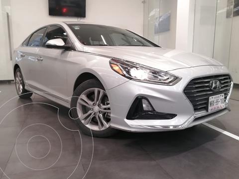 Hyundai Sonata Premium usado (2018) color Gris precio $280,000