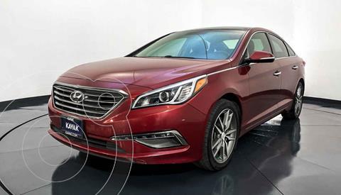 Hyundai Sonata Limited NAVI usado (2015) color Rojo precio $217,999