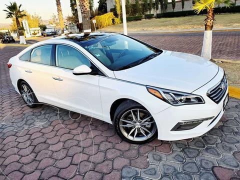Hyundai Sonata Limited NAVI usado (2016) color Blanco precio $195,000