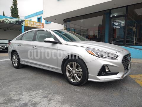 Hyundai Sonata Premium usado (2018) color Plata Dorado precio $328,000
