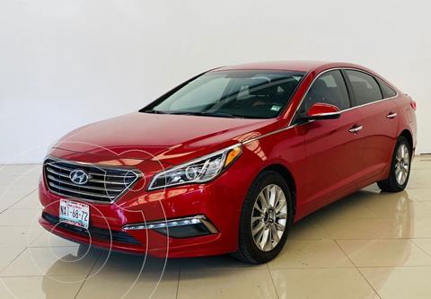 Hyundai Sonata Premium usado (2017) color Rojo precio $255,000