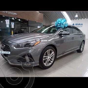 Hyundai Sonata Sport 2.0T usado (2018) color Gris precio $295,000
