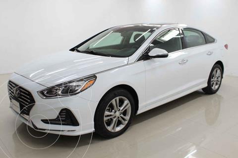 Hyundai Sonata Limited NAVI usado (2018) color Blanco precio $319,000