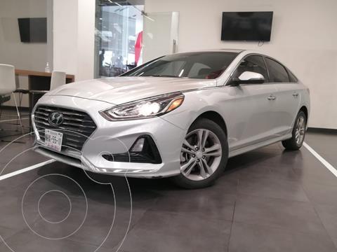 Hyundai Sonata Limited NAVI usado (2018) color Gris precio $295,000