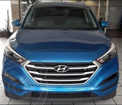Hyundai Tucson  2.0 GL 4x4  usado (2017) color Azul precio $14.000.000
