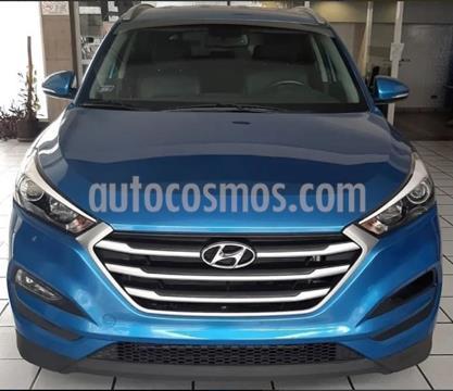 foto Hyundai Tucson 2.0 4x4 Aut  usado (2017) color Azul precio $50.000.000