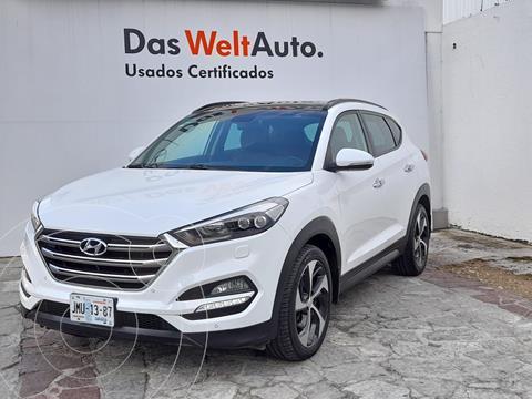 Hyundai Tucson Limited Tech usado (2016) color Blanco precio $310,000