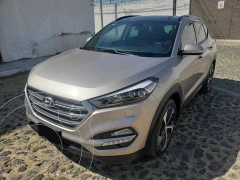 Hyundai Tucson Limited Tech usado (2018) color Gris precio $350,000