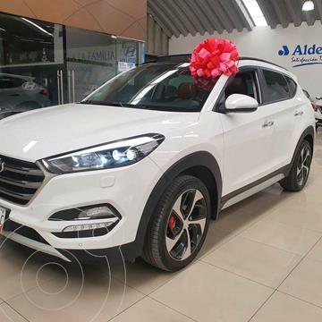 Hyundai Tucson Limited Tech usado (2018) color Blanco precio $390,000
