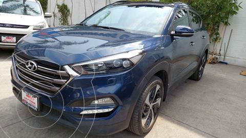 Hyundai Tucson Limited Tech usado (2018) color Azul precio $359,000