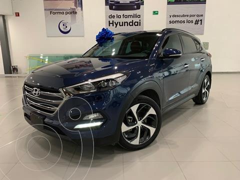 Hyundai Tucson Limited Tech usado (2018) color Azul precio $385,000