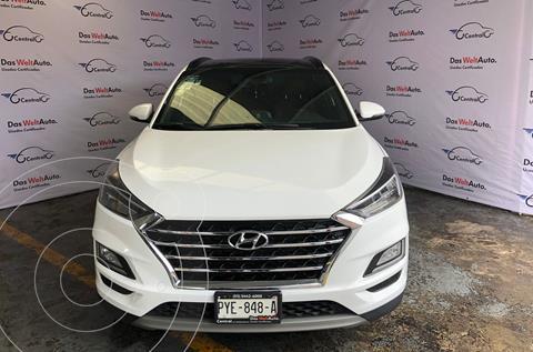 Hyundai Tucson LIMITED 5P L4 2.0L 2WD VP ABS BA AC R17 AUT usado (2019) color Blanco precio $419,500