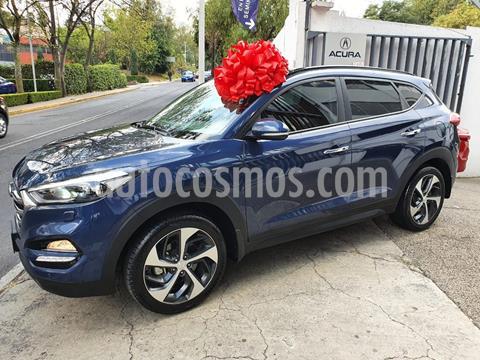 Hyundai Tucson Limited Tech usado (2018) color Azul Acero precio $345,000