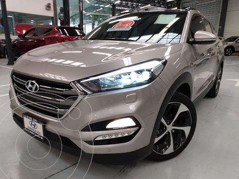 Hyundai Tucson Limited Tech usado (2018) color Beige precio $324,900