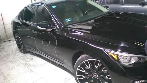 Infiniti Q50 Hybrid Design Line usado (2016) color Negro precio $325,000